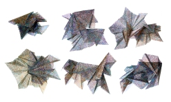 (Showing possible configurations) Lace, resin, acrylic │ dimensions variable │ 2012