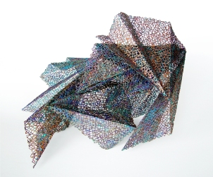 Lace, resin, acrylic │ dimensions variable │ 2012