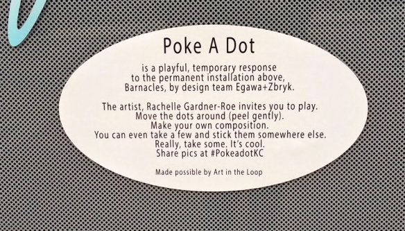 Poke A Dot Label