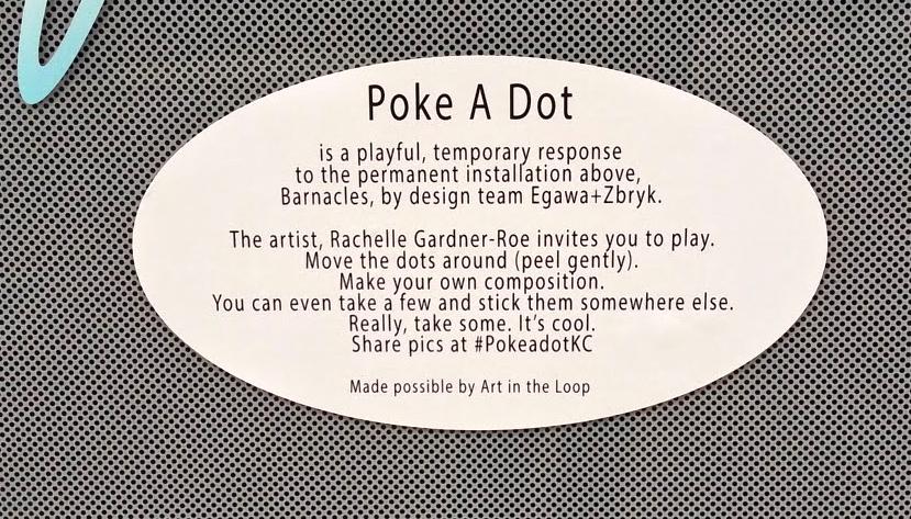 Poke A Dot Label